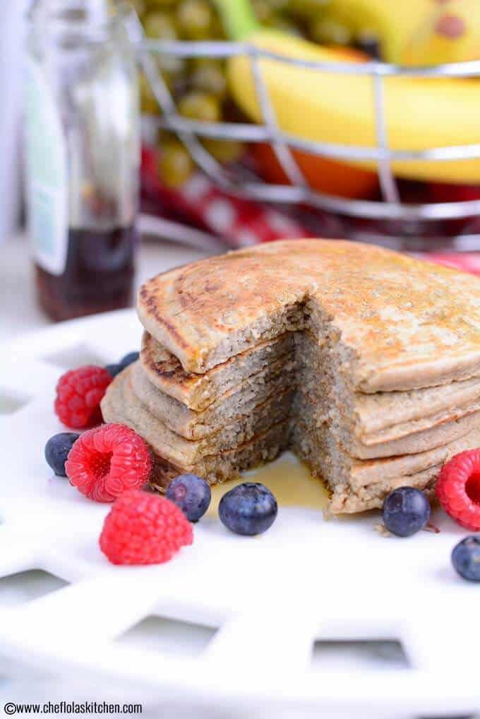 Healthy Banana Oatmeal Pancake