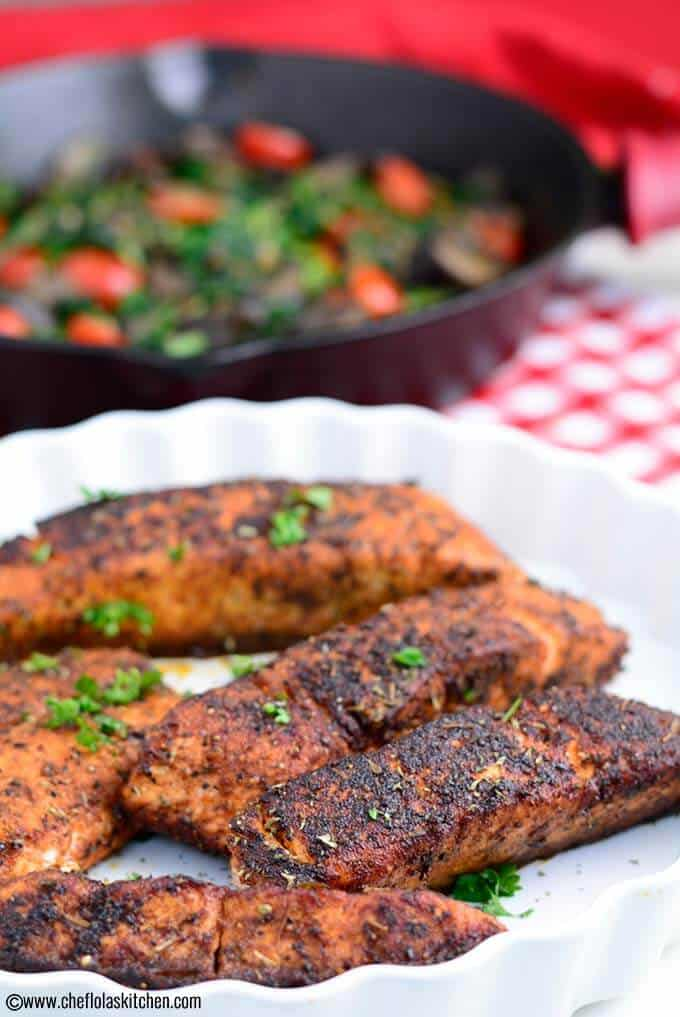Delicious Blackened Salmon