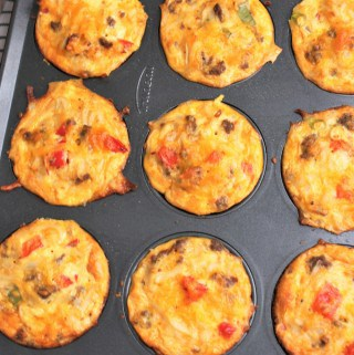 Yes, this scrambled Eggs and Potatoes Breakfast Muffins freeze so well. If you have any leftovers, simply put them in a ziplock bag and freeze them.