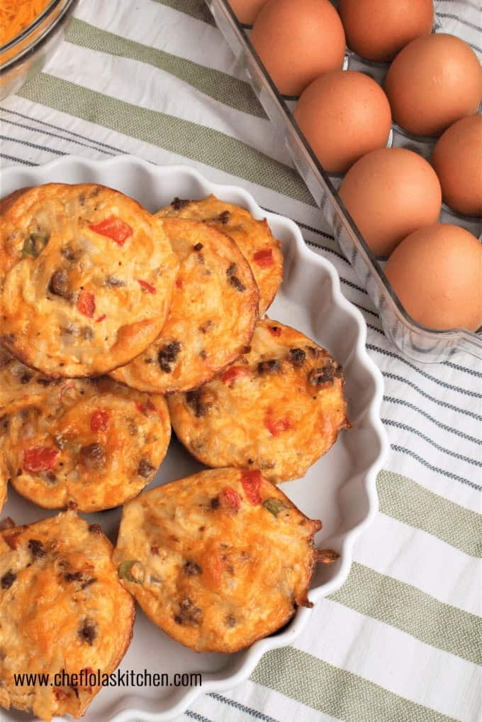 Scrambled Eggs and Potatoes Breakfast Muffins is an excellent recipe that combines everything you need for breakfast in a few bites.