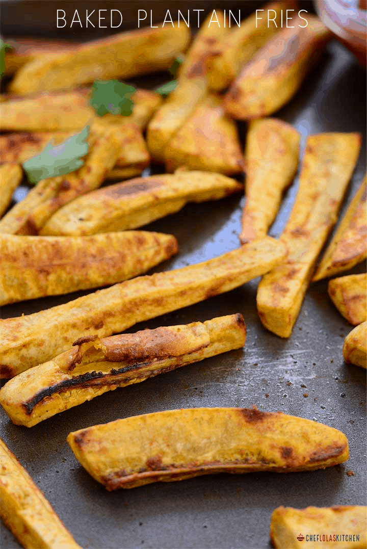 Plantain fries are wonderful and they are so easy to make.