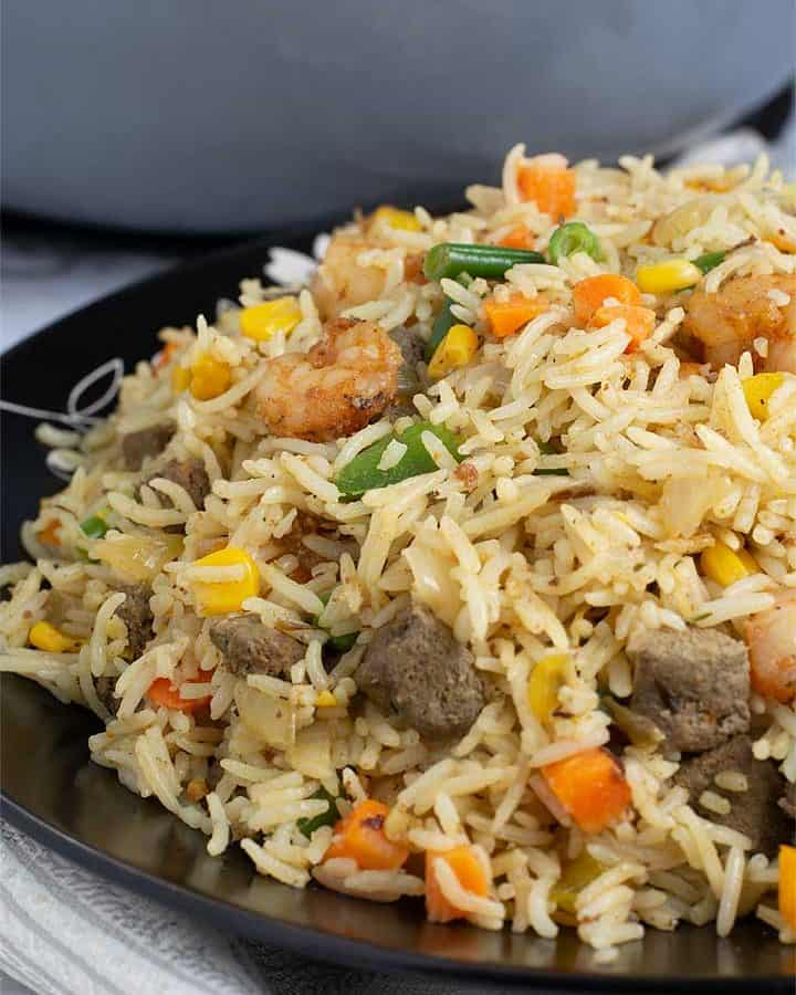 picture of coconut fried rice
