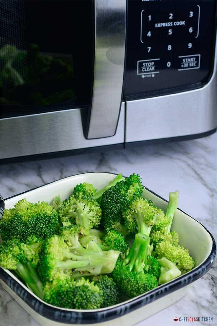 How To Microwave Broccoli Chef Lolas